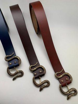 Cinturones de serpiente