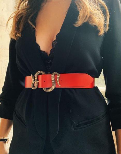 Cinturón de serpiente