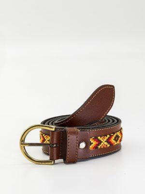 Cinturón unisex estampado
