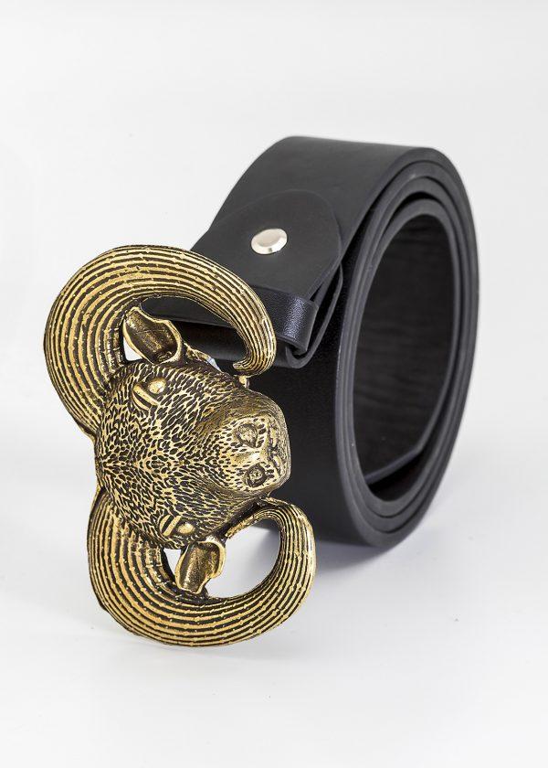 Cinturón carnero dorado
